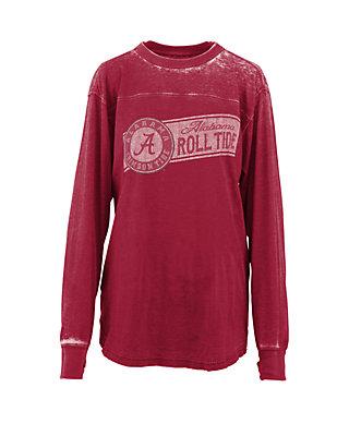 Retro Brand Alabama Crimson Tide Deep Red Mens L//S Shirt