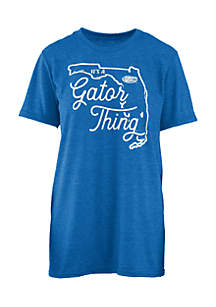 Short Sleeve University Of Florida Its A School Thing Crew Neck Tee