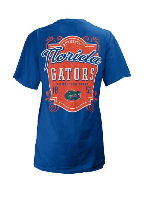 Pressbox Womens NCAA Florida Gators Jubilee Jersey T-Shirt