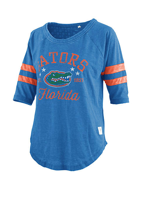 Florida Gators Jade Vintage Wash Jersey T Shirt