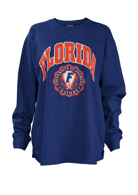 Pressbox Womens NCAA Florida Gators Edith Sweeper T-Shirt