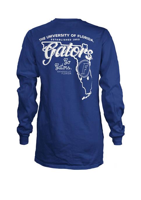 Pressbox Womens NCAA Florida Gators State Jersey T-Shirt
