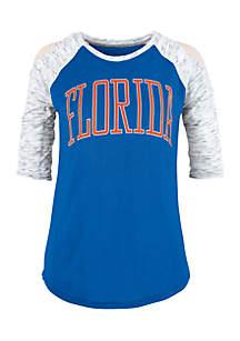 University Of Florida Gators Bella Lap Cold Shoulder Tee