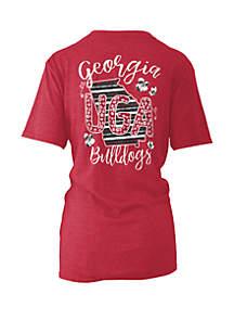ROYCE Georgia Bulldogs Memory Board Coast T Shirt