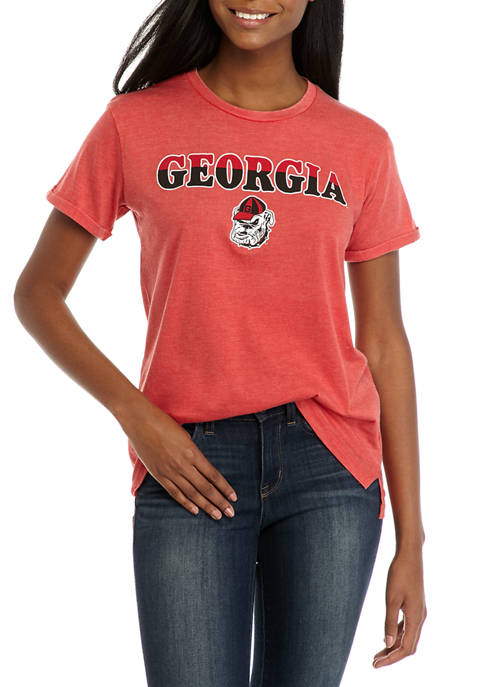 NCAA Georgia Bulldogs Breakdown Graphic T-Shirt
