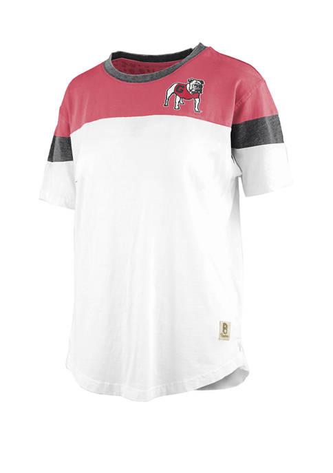 Pressbox NCAA Georgia Bulldogs Blossom Jersey T-Shirt