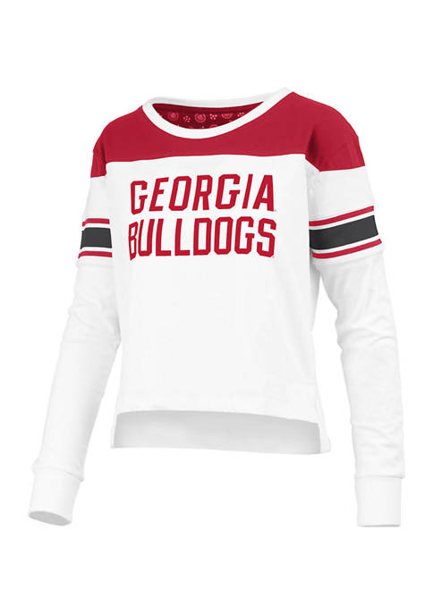 Pressbox Womens NCAA Georgia Bulldogs Long Sleeve Kaia