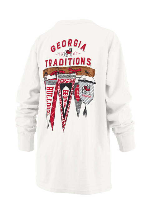 Pressbox Womens NCAA Georgia Bulldogs Long Sleeve Tradition
