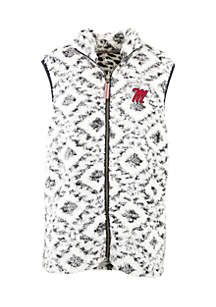 Ole Miss Rebels Tribal Full Zip Vest
