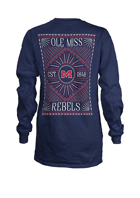 Ole Miss Rebels Long Sleeve T Shirt
