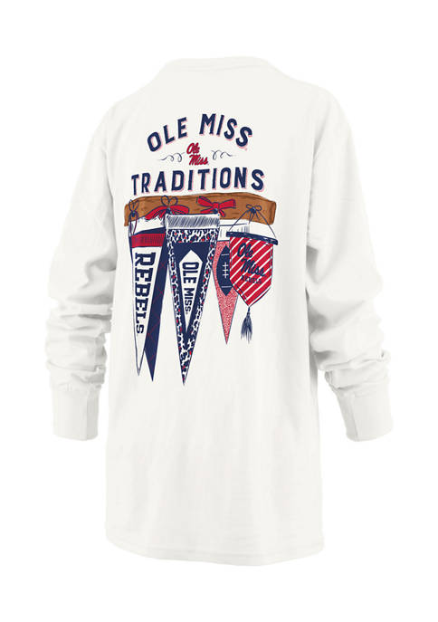 Womens NCAA Ole Miss Rebels Long Sleeve Traditions T-Shirt