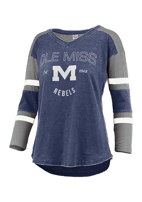 Womens NCAA Ole Miss Rebels Varsity Top
