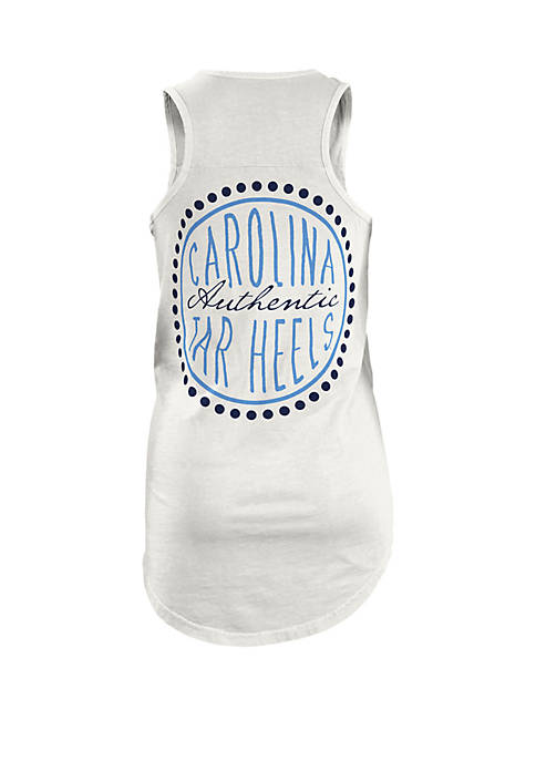 UNC Tar Heels Curly Sue Coastal Tank