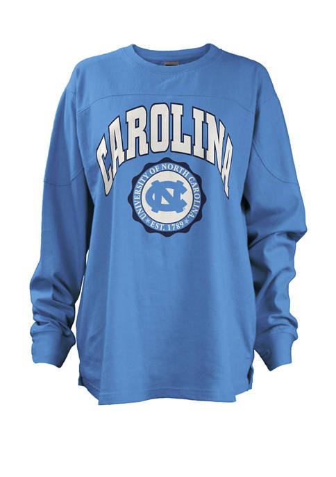 Womens NCAA North Carolina Tar Heels Edith Sweeper T-Shirt