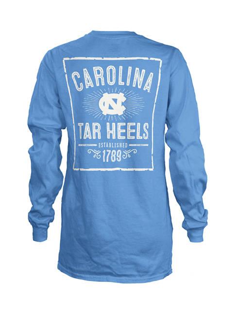 Womens NCAA North Carolina Tar Heels Daisy Jersey T-Shirt