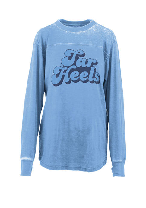 Womens NCAA North Carolina Tar Heels Angie Vintage T-Shirt