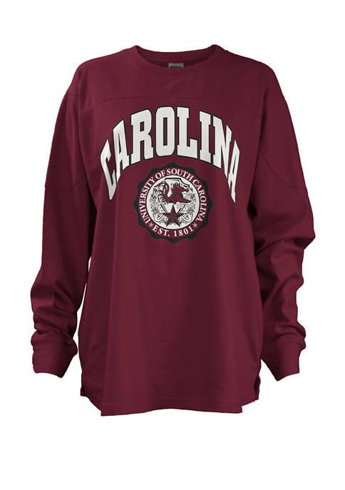 Womens NCAA South Carolina Gamecocks Edith Sweeper T-Shirt