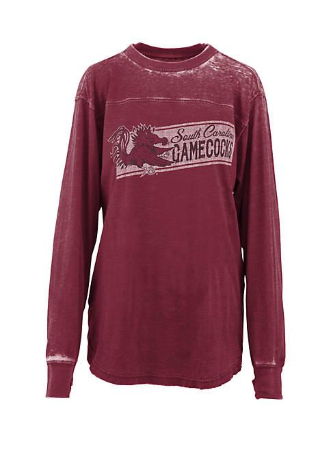 Pressbox USC Stripes Vintage Wash T Shirt