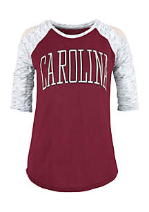 USC Gamecocks Bella Lap Cold Shoulder Tee