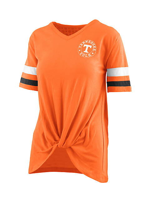 Tennessee Volunteers Twist Front Knot T Shirt