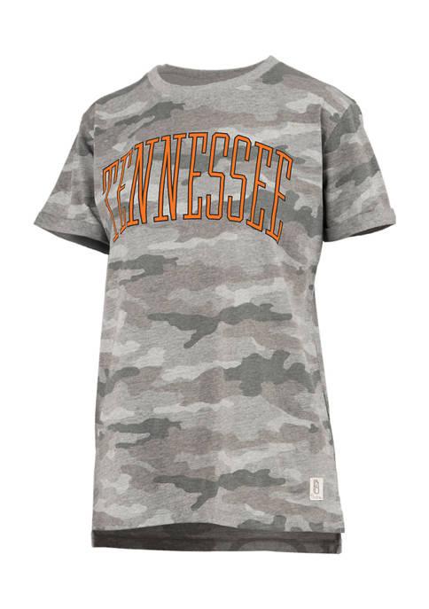 Womens NCAA Tennessee Volunteers Camo T-Shirt