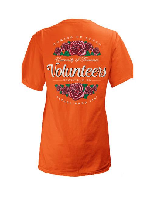 Pressbox Womens NCAA Tennessee Volunteers Coming Up Roses