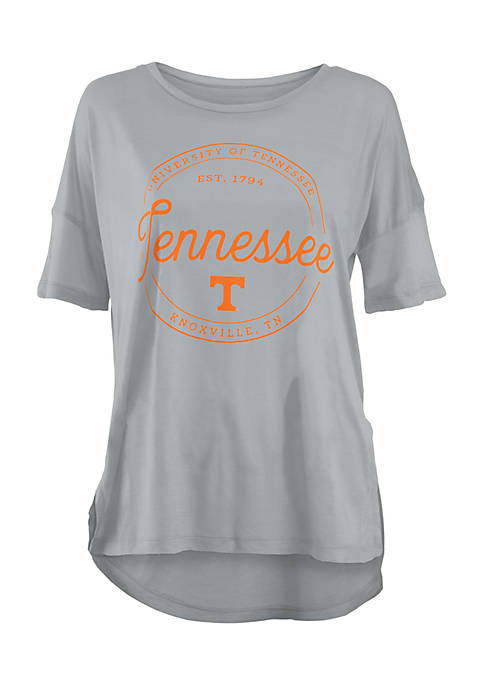 ROYCE Short Sleeve Tennessee Volunteers Ella Seal Stretch