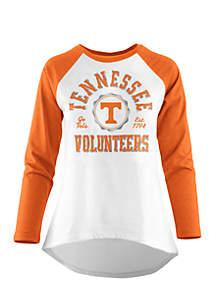 Long Raglan Sleeve Tennessee Volunteers Tee