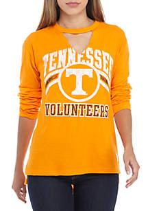Tennessee Volunteers Crew Neck Choker Long Sleeve Tee