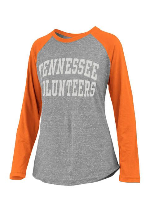 Pressbox NCAA Tennessee Volunteers Long Sleeve Baseball T-Shirt