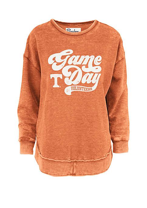 Tennessee Volunteers Retro Game Day Vintage Wash Fleece Pullover