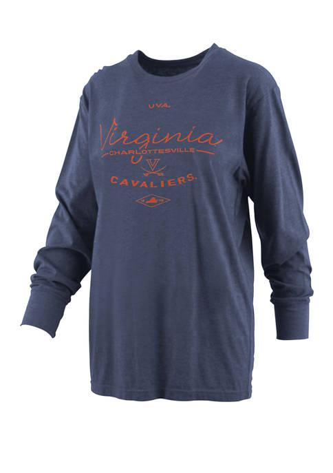 Womens NCAA Virginia Cavaliers Farrah Melange T-Shirt