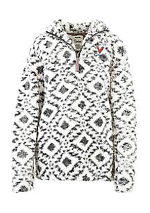 Virginia Cavaliers Tribal 1/4 Zip Fleece Pullover
