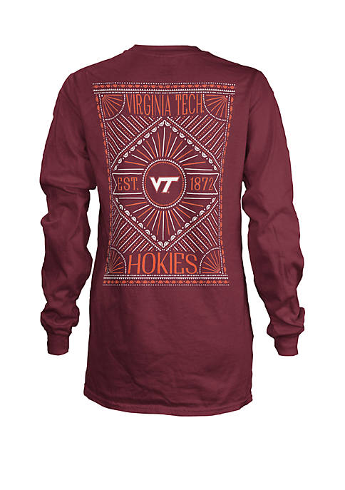Virginia Tech Hokies Kayleigh Long Sleeve T Shirt
