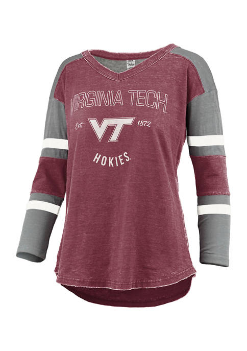 Womens NCAA Virginia Tech Hokies Varsity Top