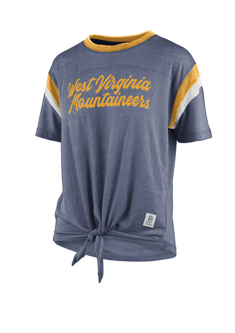 Womens NCAA WVU Mountaineers Juniper T-Shirt