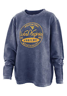 West Virginia Mountaineers Comfy Corduroy Pullover