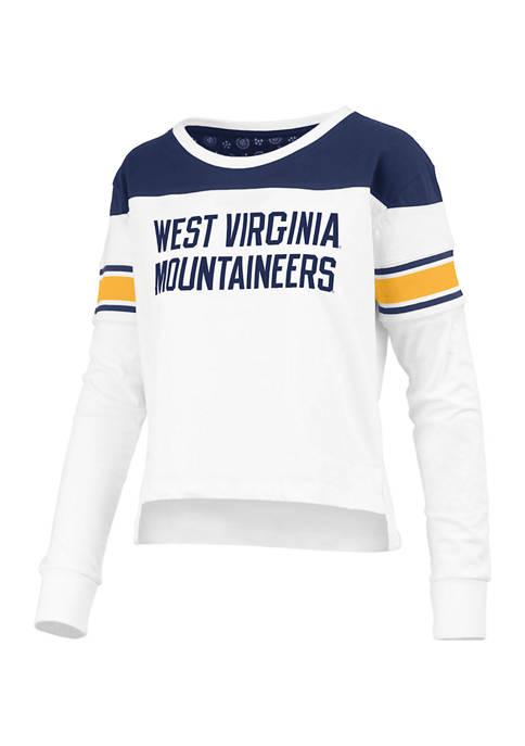 Womens NCAA West Virginia Mountaineers Kaia Long Sleeve T-Shirt
