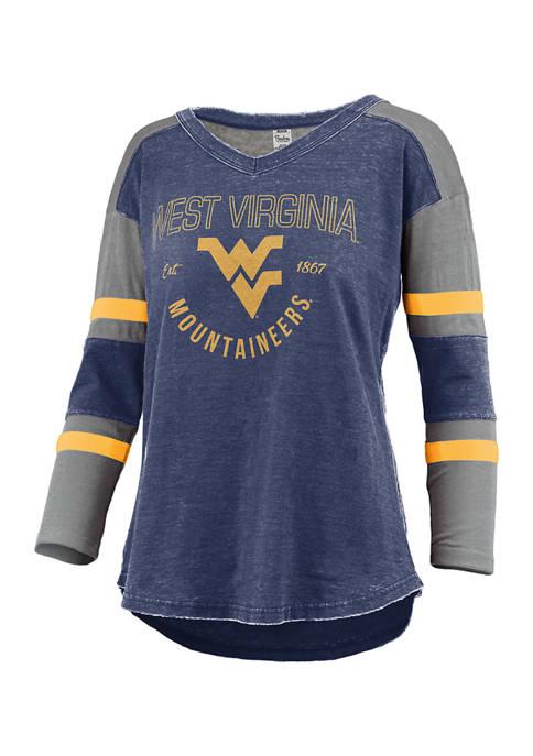 Womens NCAA West Virginia Mountaineers Varsity Top