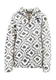 West Virginia Mountaineers 1/4 Zip Fleece Pullover