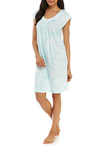Miss Elaine Cottonessa Short Sleep Gown