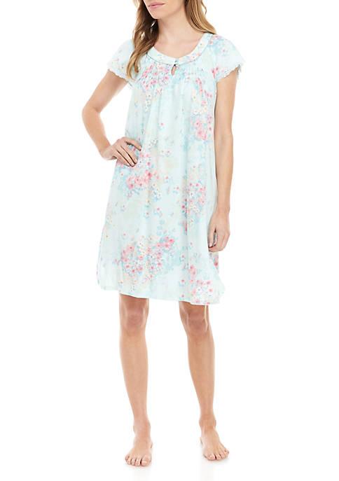Miss Elaine Cottonessa Short Nightgown