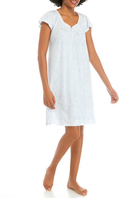 Silky Knit Nightgown