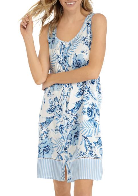 Woven Short Nightgown