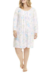 Plus Size Short Night Gown