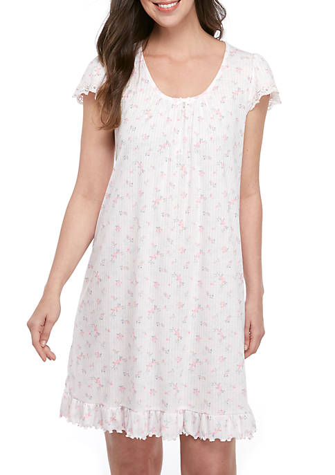 Soft Knit Short Nightgown