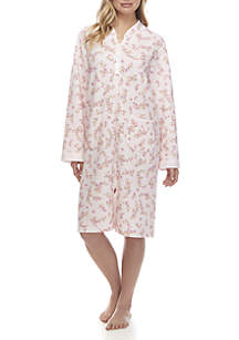 Quilted Knit Night Robe