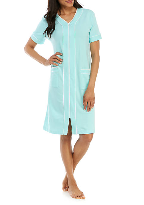 Short French Terry Night Gown