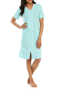 Miss Elaine Short French Terry Night Gown