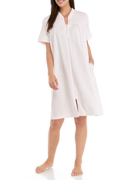 Short Zip Robe